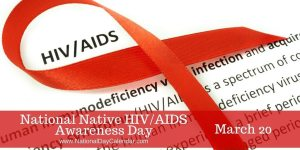 National HIV Native Awareness Day