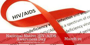 National HIV Native Awareness Day
